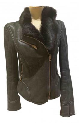 Ventcouvert Black Shearling Jackets