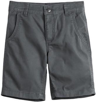 Sonoma Goods For Life Boys 4-12 Flat-Front Shorts in Regular, Slim & Husky