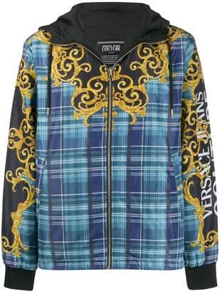 Versace Reversible nylon jacket