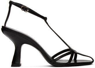 Simon Miller Black Star Heeled Sandals