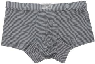 Ermenegildo Zegna Grey Striped Boxers