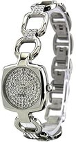 Esprit Women's ES102672003 Cinetta Silver Analog Cubic Zirconia Dial Watch