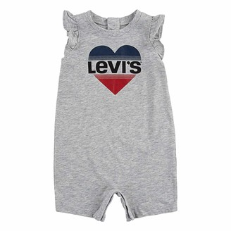 Levi's Ruffle Sleeve Romper