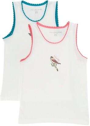 Stella McCartney Kids Weekend Bird Print Vest Set