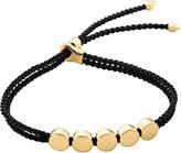 Monica Vinader Linear Bead 18ct gold-plated friendship bracelet