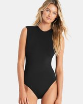 Seafolly Active Cap Sleeve Maillot One-Piece Swimsuit