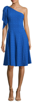 Nanette Lepore Soiree One Shoulder Flared Dress