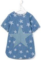 Stella McCartney 'Bess' star print denim dress
