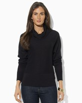 Lauren Ralph Lauren Petites Dolman Cowl Neck Sweater
