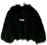Lanvin Pre Owned 2002's cropped fur jacket