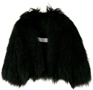 Lanvin Pre-Owned 2002's cropped fur jacket