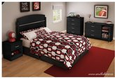 South Shore Libra Collection 4-Drawer Chest - Pure Black