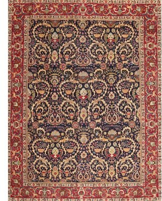 Bloomsbury Market Traditional Red Area Rug Rug Size Round 3 Shopstyle