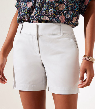 LOFT Curvy Riviera Shorts with 6 Inch Inseam