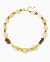 Charming charlie Painted Sparkle Bead Necklace