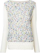 Coohem mix 'Fancy' aran pullover