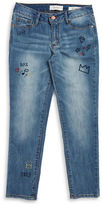 Jessica Simpson Girls 7-16 Monroe Embroidered Jeans