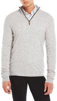 Qi Quarter-Zip Cashmere Pullover