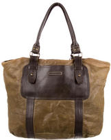 John Varvatos Colorblock Leather Tote
