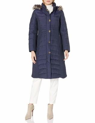 Anne Klein Women's Maxi Down Coat
