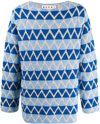 Marni Intarsia Knit Jumper