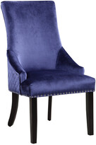 Chic Home Set Of 2 Machla Navy Dining Chairs