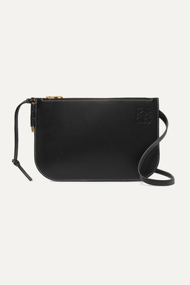 Loewe Gate Leather Shoulder Bag - Black