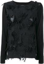 Lareida fringed blouse - women - Cotton - M