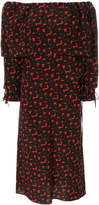Marni off-the-shoulder printed dress