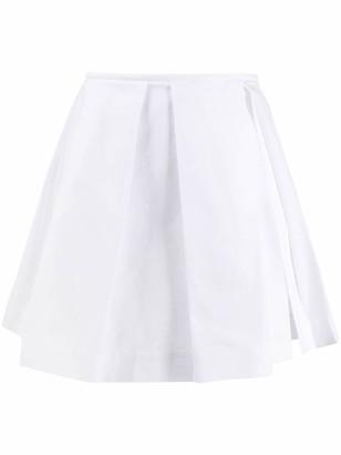 Courreges Pleated Mini Skirt