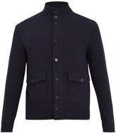 Polo Ralph Lauren Contrast-sleeve wool-blend jacket