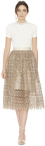 Alice + Olivia Almira Midlength Party Skirt