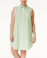 Lauren Ralph Lauren Plus Size Sleeveless Sleepshirt