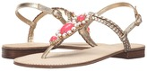 Lilly Pulitzer Sole Seaurchin Sandal
