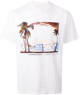 Prada city print T-shirt
