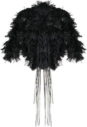 PASKAL clothes Cropped Fringe Bolero Jacket