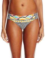 Trina Turk Women's Brasilia Shirred-Side Hipster Bikini Bottom