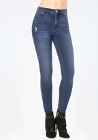 Bebe Bi-Stretch High Rise Jeans