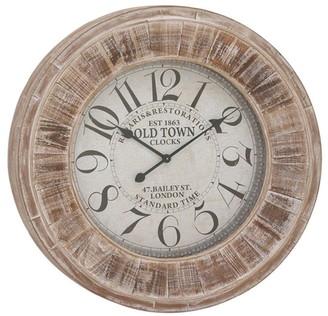 Willow Row Multi Farmhouse Vintage Wall Clock