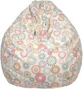 Asstd National Brand Cotton Pinwheel Teardrop Beanbag