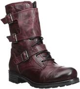 Bos. & Co. Wine Irena Waterproof Leather Boot
