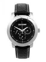 Chevignon Men's Quartz Watch 92-0059-501 with Leather Strap