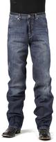Stetson Very Dark Navy Creased Jeans - Men's Regular