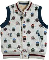 Stella McCartney Helmet Printed Organic Cotton Vest