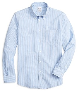 Brooks Brothers Striped Button Down Shirt