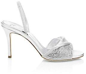 Giuseppe Zanotti Women's Crystal Twist Stilettos