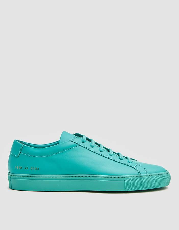 Common Projects Original Achilles Low Sneaker in Mint