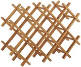 Panda Wooden bamboo 10 bottle wine rack
