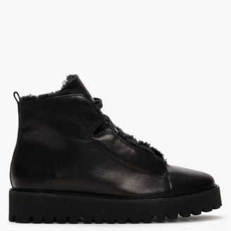 Kennel + Schmenger Alicia Black Leather Ankle Boots