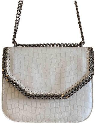 Stella McCartney Falabella Box White Synthetic Handbags